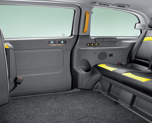 London Vito Taxi Interior